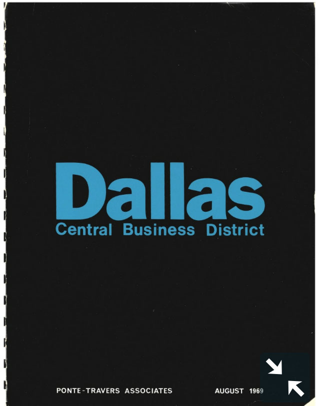 Dallas Central Business District Planning