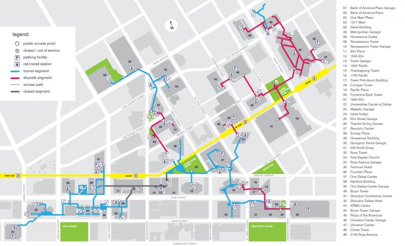 Dallaspedestriannetwork Info Public Map Information